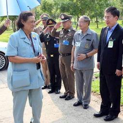Her Royal Highness Princess Maha Chakri Sirindhorn Visits and Observes the Operation of Chaipattana Foundation's Research and Development Project on Highland Agriculture in Fang District, Chiang Mai Province