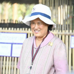 Her Royal Highness Princess Maha Chakri Sirindhorn Observes the Operation of the Chaipattana Foundation's Projects in Chiang Rai