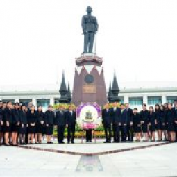 Wreath Laying Ceremony on the Occasion of Ananda Mahidol Day 2017
