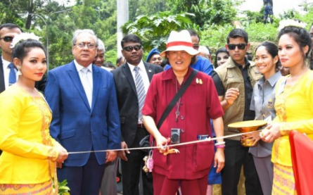 Her Royal Highness Princess Maha Chakri Sirindhorn opens the ...