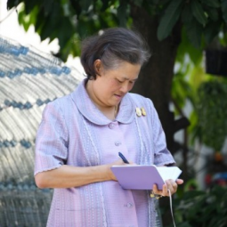 H.R.H. Princess Maha Chakri Sirindhorn Presides over the End of Academic Year Ceremony of the Chaipittayapat School