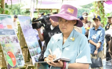 Her Royal Highness Princess Maha Chakri Sirindhorn Visits an ...