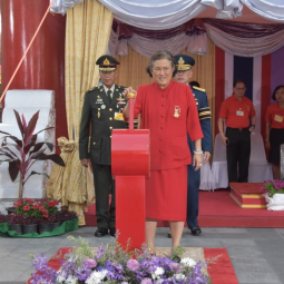 HRH Princess Maha Chakri Sirindhorn Presides Over the Opening Ceremony of the Chinese New Year Festival on Yaowarat Road and Visits PatPat Shop