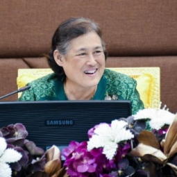 Her Royal Highness Princess Maha Chakri Sirindhorn Presides over the Chaipattana Foundation's Annual Committee Meeting 1/2019