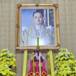 The ceremony In Remembrance of His Majesty King Bhumibol Adulyadej the Great on the Occasion of His Majesty's Decease Day
