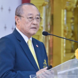 "Secretary-General of the Chaipattana Foundation Gives a Special Speech on ""Follow the Father's Footsteps"" in Remembrance of His Majesty King Bhumibol Adulyadej the Great"