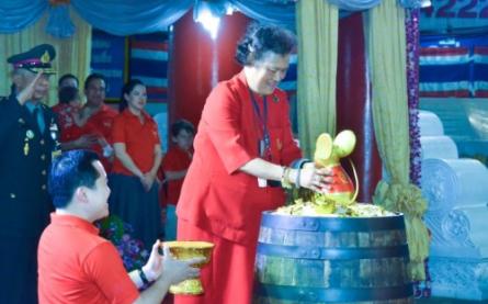 Her Royal Highness Princess Maha Chakri Sirindhorn Presides  ...