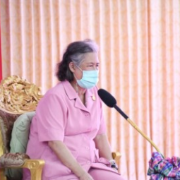 Her Royal Highness Princess Maha Chakri Sirindhorn Proceeds to Observe the Operation Progress of Thaharn Phandee Project (Good Farmer Soldiers) and Royally-initiated Kaset Ruamjai Project
