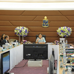 HRH Princess Maka Chakri Sirindhorn presides over the 1st Committee Meeting of 2011