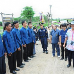 HRH Princess Maha Chakri Sirindhorn Inspects the Progress of the Chaipattana Foundation's Projects in Lopburi Province