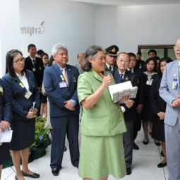 HRH Princess Maha Chakri Sirindhorn Inspects the Progress of the Chaipattana Foundation's Projects in Southern Provinces
