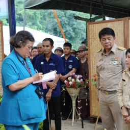 H.R.H. Princess Maha Chakri Sirindhorn Visits Highland Agriculture Research and Development Project of the Chaipattana Foundation in Chiang Mai Province