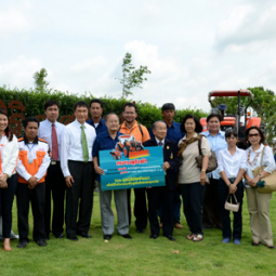 The Secretary-General Visits Projects of the Chaipattana Foundation Saraburi and Lopburi Provinces