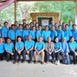 Participants from the 1st Chaipattana Foundation's Leadership Programme for Sustainable Development visited Buriram Province