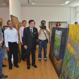 Deputy Secretary-General Chairs the Celebratory Painting Competition