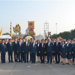 Wreath Laying Ceremony on the Occasion of Chulalongkorn's Day