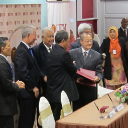 MOU Signing Ceremony for an Academic Collaboration between Chaipattana Foundation and Institute of Bioproduct Development (IBD), Universiti Teknologi Malaysia (UTM)